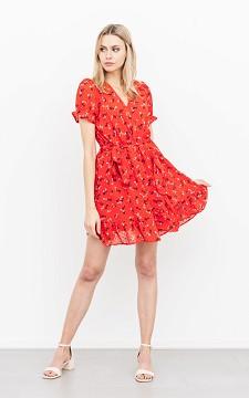 Kleid Hanne - Kurzes Sommerkleid mit floralem Muster