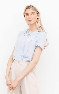 Top Alina - Elegantes Top mit Knöpfen