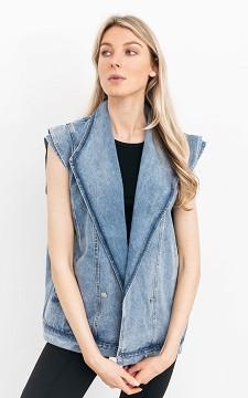Weste Eva - Jeans-Weste mit Taschen