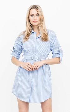 Dress Ayleen - Dress with pockets and a belt