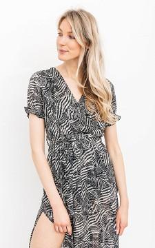 Kleid Juliette - Charmantes Kleid mit Rockschlitz