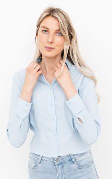 Blouse Amber - Getailleerde blouse met knoopjes