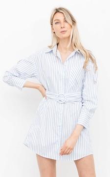Kleid Ayleen - Elegantes Hemdkleid mit Taschen