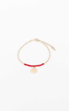 Ankle Bracelet Anna - Adjustable anklet with a pendant