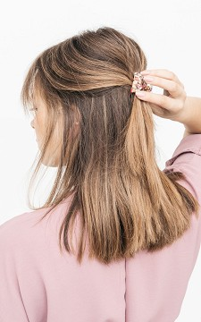 Hair-clip Flower - Floral hairclip