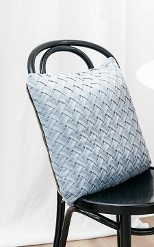 Pillow Loeka - Velvet cushion with a zip