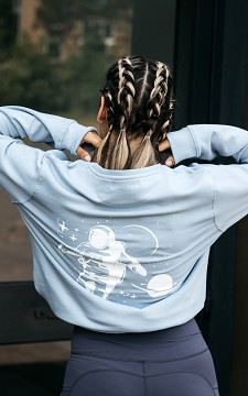 Pullover Space - Cooler Pullover mit Print