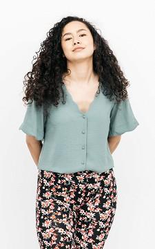 Blouse Kamilla - V-hals blouse met knoopjes
