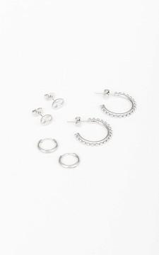 Earrings Sarieke - Set of three pairs of earrings