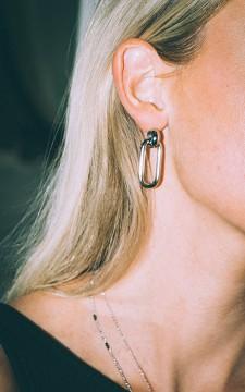 Ohrringe Willemijn - Abstrakte Ohrringe aus Edelstahl