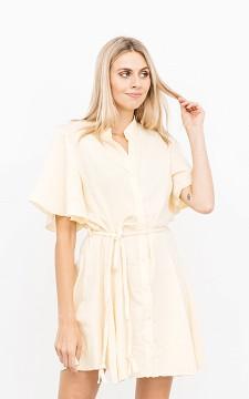 Kleid Tirza - Kleid mit geflochtener Bindeschleife