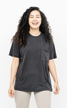 Shirt Kelsey - Shirt met één borstzak