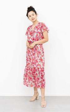 Kleid Billy - Midi Kleid mit floralem Muster