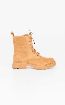 Boots Danique - Veterboots met suéde look