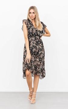 Kleid Luus - Elegantes Kleid mit floralem Muster
